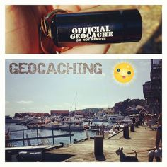 A little trip to the beach = a little cache on the road :-)
