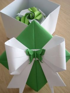 vania passos origami | Origami: Twirls, boxes and bows