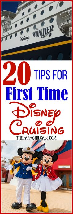 Ready to set sail on your first Disney cruise? Before you cast off, check out these 20 Tips For First Time Disney Cruising. 20 Tips For First Time Disney Cruising Dariela Cruz - Mami Talks darielacruz Traveling places Ready to set sail on your firs Cruise Tips, Cruise Travel, Cruise Vacation, Disney Vacations, Disney Travel, Family Vacations, Vacation Destinations, Vacation Ideas, Disneyland Cruise