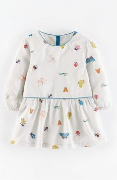 Mini Boden 'Pretty' Print Top (Toddler Girls, Little Girls & Big Girls) available at #Nordstrom