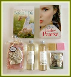 Lavender likes, loves, finds and dreams: Giveaway: Books and Natural Beauty Products
