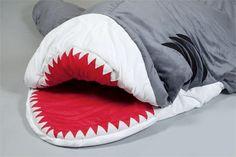 Shark Week Inspired Sleeping Bag