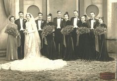003 | Detroit wedding, c.1930s. Can anyone identify any of t… | Flickr