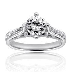 Reis-Nichols Jewelers : Michael M Diamond Engagement Ring