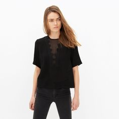Top Eulalie - Tops & Chemises - Sandro-paris.com