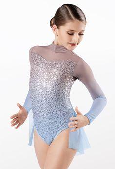 Weissman® Sequin Crop Top, Lace Crop Tops, Lyrical Costumes, Spandex Dress, Mid Length Skirts, Mesh Skirt, Mesh Long Sleeve, Dance Leotards, Stretch Lace