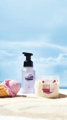 Waffle Cones, Summer Berries, 3 Wick Candles, Summer Treats, Natural Essential Oils, Bath And Body Works, Waffles, It Works, Wax