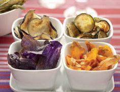 Chips di frutta e di verdura: un'alternativa sana e gustosa alle merendine confezionate e alle patatine fritte! Facili da fare per tutti!