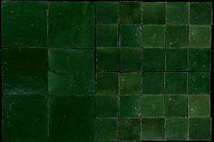 Emery & cie | Zelliges bathroom tiles vert foncé
