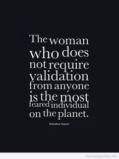 That kind of woman