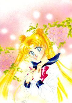 美少女戦士セーラームーン原画集 Bishoujo Senshi Sailor Moon Original Picture Collection vol.5 - 月野うさぎ / セーラームーン Usagi Tsukino / Sailor Moon by Naoko Takeuchi