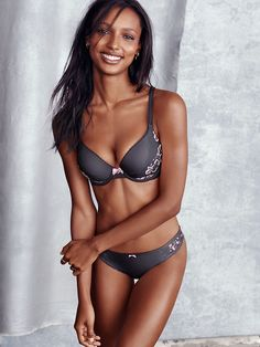 Seriously soft and comfy, with the perfect amount of lift. Trust us: you'll be smiling too ;) | Victoria's Secret Perfect Shape Bra