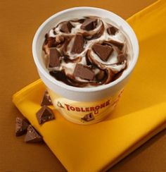 McFlurry Toblerone ♥