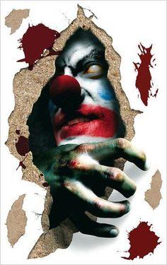 Love creepy clowns!