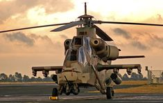 Denel AH-2 Rooivalk Attack Helicopters 2