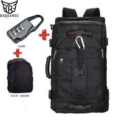 Special offer BAIJIAWEI Hot Sale Large Capacity Backpacks Waterproof Bag  Travel Backpack Multifunctional Bags Luggage Backpacks 1cd5e53d06117