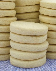 Basic Sugar Cookies - Chocolate Desserts OMG