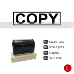 COPY, Pre-Inked Office Stamp, 760310-B