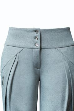 Wrap Pants, Skirt Pants, Structured Fashion, Corporate Women, Fashion Details, Fashion Design, Power Dressing, Business Outfits, Fashion Pants