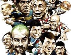 Brasil 2014 Caricatures posters on Behance Living In Brazil, Behance, Poster On, World Cup, Card Games, Safari, In This Moment, Prints, Artist