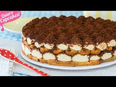 TIRAMISÚ EXTRA FÁCIL | Postre sin horno | Quiero Cupcakes! - YouTube Apple Desserts, Cookie Desserts, Bakery Recipes, Dessert Recipes, Sweet Factory, Cupcakes, Cheesecakes, Deserts, Sweets