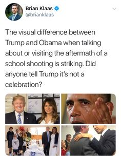 Okay, not everyone reacts to things the same way. Maybe they didn't think about Obama was working up fake tears to score political points. A real president would've respectfully declined the cameras and reporters. No Seas Mamon, Faith In Humanity Restored, Intersectional Feminism, Equal Rights, Social Issues, Social Justice, In This World, Equality, Feelings