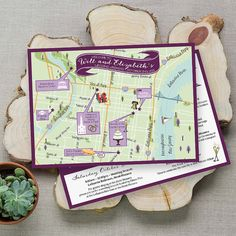 Custom Map Philly Map Wedding Map by FeatheredHeartPrints on Etsy