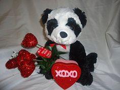Valentines Panda Bear 14 Inch with Red Heart Bouquet & Sm... https://www.amazon.com/dp/B01N201GH9/ref=cm_sw_r_pi_dp_x_ROwEyb3MEKHVA