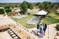 Thomas and Christien's Rural and Romantic Rustic Menorca Wedding by David Luque