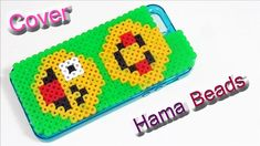 Cover Telefono Emoticon con Hama Beads ♥ Phone Case Emoji with ...