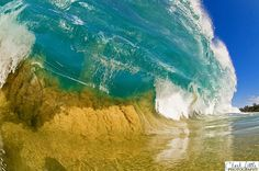 Such a great capture of the ocean waves
