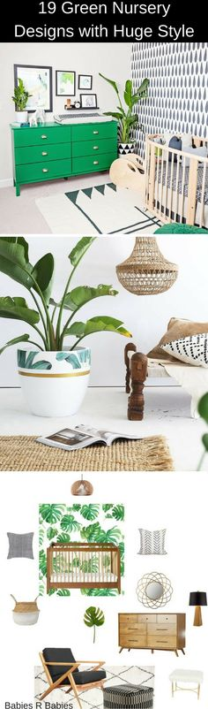 19 Nursery Designs with huge style. Tropical.Botanical.Cactus