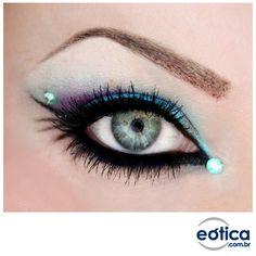 Que tal um acessório novo para os seus olhos? :) #make #maquiagem