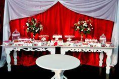 Fotos de Casamento Branco e Vermelho – Fotos de Casamentos