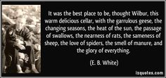 More E. B. White Quotes