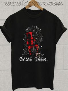 Deadpool Game of Thrones Tshirt //Price: $14.50    #clothing #shirt #tshirt #tees #tee #graphictee #dtg #bigvero #OnSell #Trends #outfit #OutfitOutTheDay #OutfitDay