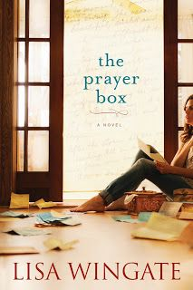 The Prayer Box by Lisa Wingate - Just finished reading this tonight. Highly recommend it (alr)