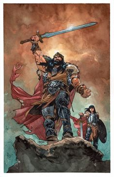 Comics and Other Cool Stuff — King Conan and Conn by Mahmud Asrar