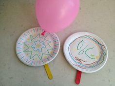 Paper Plate Tennis - My Kid Craft