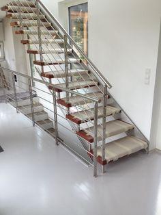 Formstep Treppen - Modell Laser mit Holzstufen - frisch montiert Stairs, Design, Home Decor, Spiral Stair, Fresh, Scale Model, Stairway, Decoration Home, Staircases