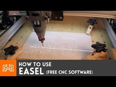 ▶ How to use Easel (free CNC software) - YouTube