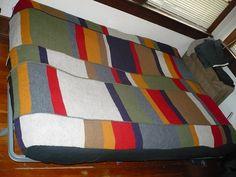 Doctor Who Scarf Blanket by MugWumpus, via Flickr