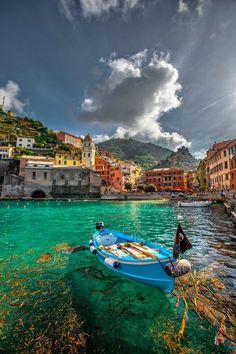 aguas turquesa en Italia