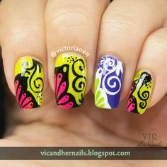Vic and Her Nails: April Tri-Polish Tuesday Day 4