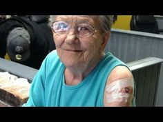 Grandma Escapes Nursing Home To Get A Tattoo