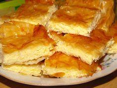 Placinta cu branza a bunicii! Iata ingredientul secret care o face Romanian Desserts, Romanian Food, Sweets Recipes, Cooking Recipes, Albanian Recipes, Polish Recipes, Foods To Eat, Quiches, Desert Recipes