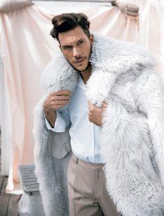 Elbio Bonsaglio - Man in Fur Coat