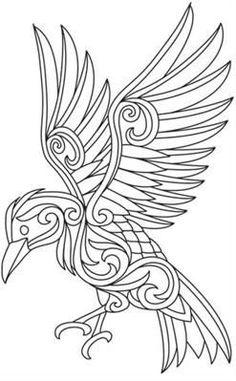25+ best ideas about Celtic raven
