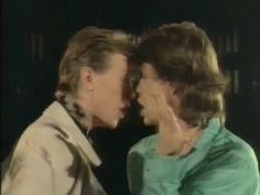 """The 9 Most Amazing Moments From David Bowie and Mick Jagger's """"Dancing In The Street"""" Music Video"""