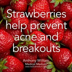 Strawberries help prevent acne and breakouts🌟 Learn more about the healing powers of strawberries in my book Life-Changing Foods, link in… Tomato Nutrition, Health And Nutrition, Health Tips, Health And Wellness, Health Care, Cheese Nutrition, Nutrition Guide, Health Facts, Fruit Benefits